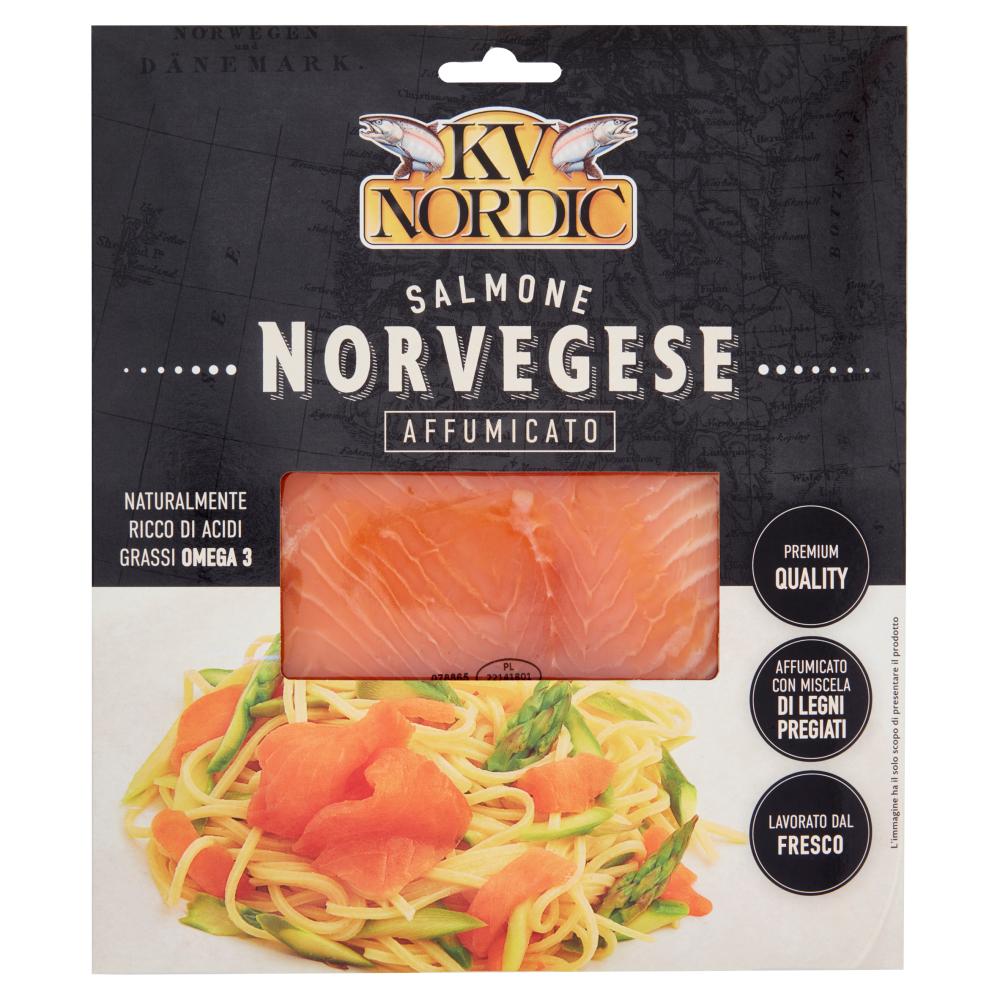 Ricetta Salmone Norvegese Affumicato.Kv Nordic Salmone Norvegese Affumicato 100 G Carrefour