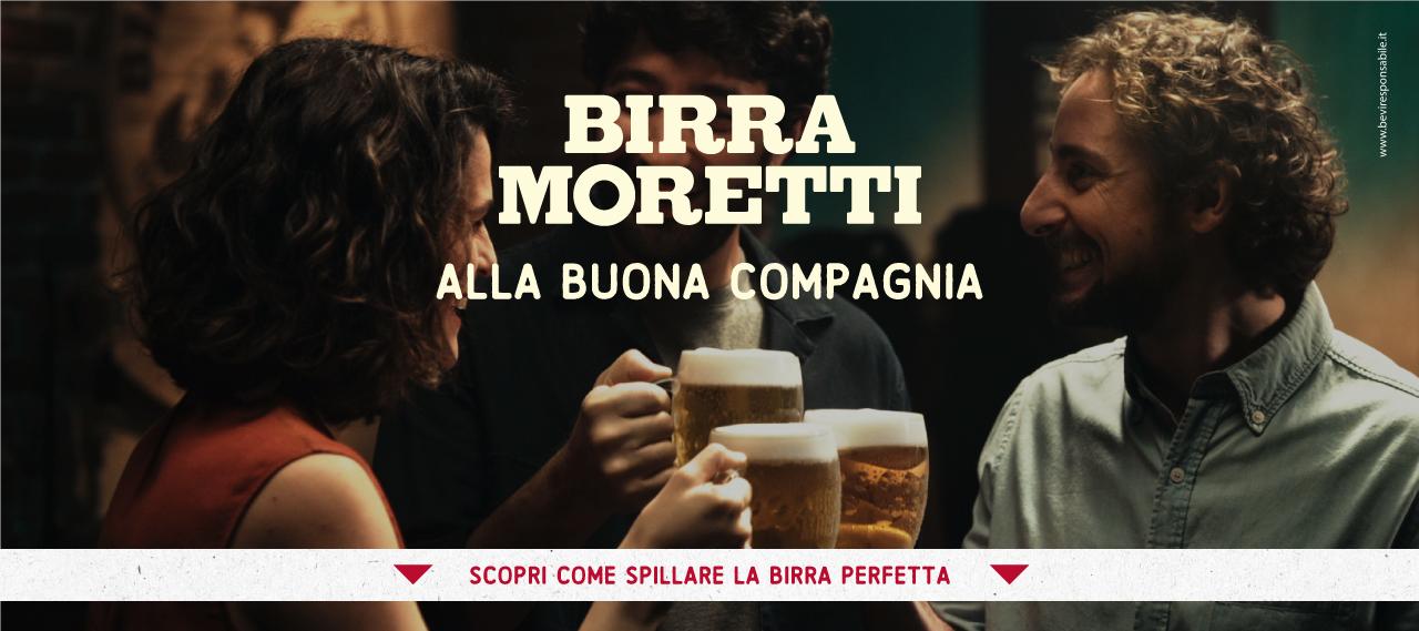 Birra Moretti - alla buona compagnia