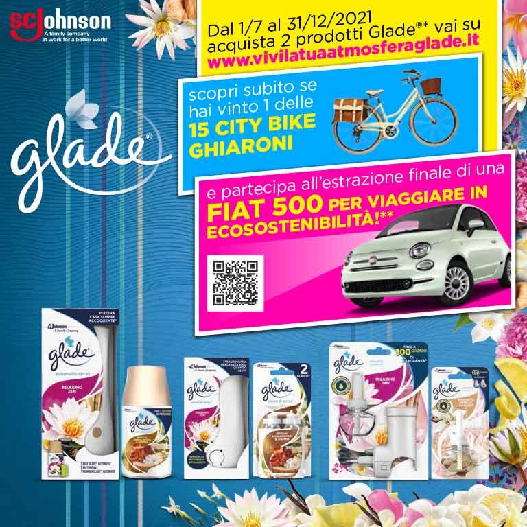 Concorso Glade Fiat 500