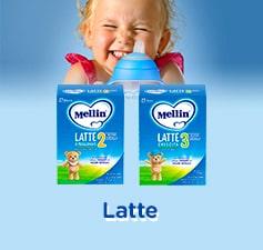 Scopri il latte Mellin