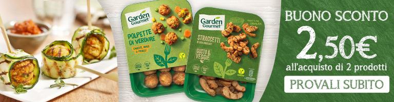 Garden Gourmet sconto 2,50
