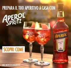 Prepara il tuo aperitivo a casa con Aperol Spritz
