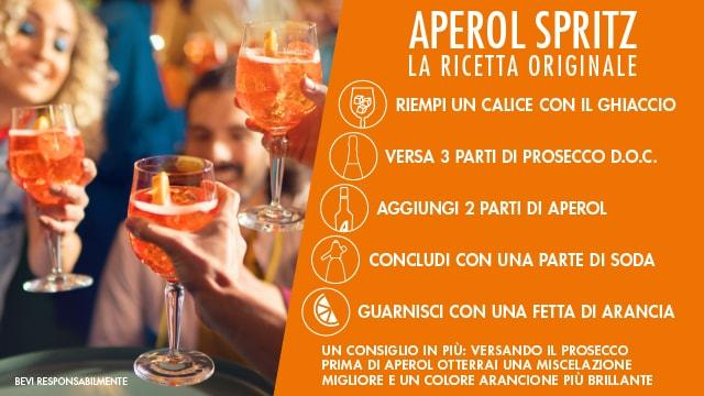 Ricetta Spritz Aperol E Prosecco.Aperol Spritz Ricetta Originale Carrefour