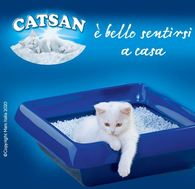 CATSAN GATTO LETTIERA