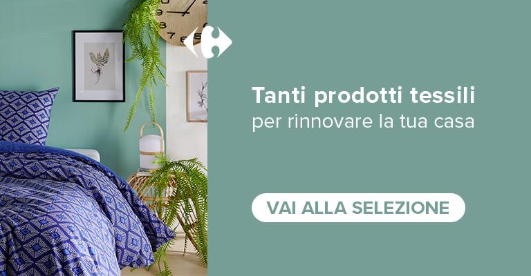 Tanti prodotti tessili per rinnovare la tua casa