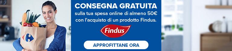 Consegna gratuita acquisto prodotto Findus