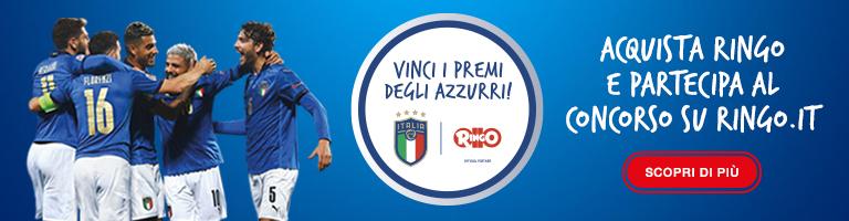 Ringo Europei 2021 Azzurri