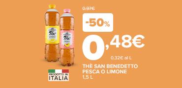 Promozioni imperdibili San Benedetto